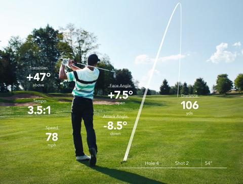 clubhub swing analysis and shot tracking